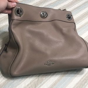 Coach purse- Turnlock Edie